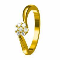 订制银镶玉保健戒指 满钻戒指 —纯银饰品生产厂家真金真空电镀镶嵌工艺首饰