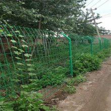 围菜地防护网 双边丝护栏网报价 防老化铁丝防护网