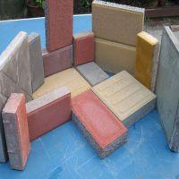 梦人砖机多少钱一台 水泥花砖 人行道透水面包砖机 环保免烧