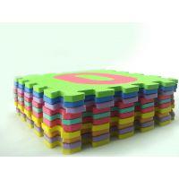 EVA小孩防滑数字拼图游戏垫 多色数字拼接式地垫