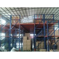隔层货架(大型重型仓储隔楼式组合结构)隔层货架