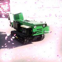 五种功能的履带施肥机 旋耕开沟施肥回填样样行