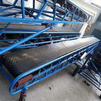 卡车装货用爬坡输送机 800带宽皮带输送机厂家