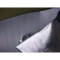 厂家供应淋膜编织布铝膜铝塑布箱包内衬加厚铝膜