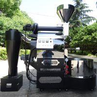 东亿12公斤咖啡烘焙机 咖啡豆烘焙加工专业机器欧姆龙双温仪表显示