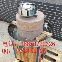 宏瑞自产自销石磨芝麻酱机 电动石磨专业厂家