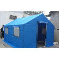 户外施工帐篷加厚帆布工地防雨防寒野外救灾军工帐篷工程品质保障