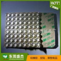 专业生产 透明硅胶防撞垫 透明硅胶防滑垫 自粘透明硅胶垫