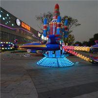 郑州厂家设计新款旋转自控飞机和其他游艺设施 全新上市采用LED炫彩灯光 造型新颖