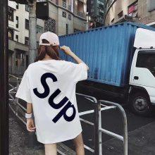 厂家直批精品女装欧洲站韩国东大门女装T恤货源