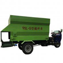 散草料投料车型号 可以定量传送散草料投料车规格 润丰