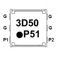 贴片隔离器 IL05DL3500AAE IL05DR3500AAE 3400-3600MHz