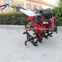 果园菜园小型除草机 便捷式汽油旋耕起垄机 大马力柴油动力除草机