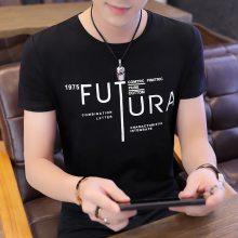 2018夏季新款男装T恤 韩版男式纯棉短袖T恤 低价外贸服装地摊货源T恤男士