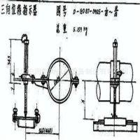 柏润锅炉 双向位移指示器 三向位移刻度指示器