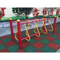 长沙健身器材安全地垫幼儿园室外场地铺设橡胶地板
