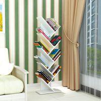 树形创意书架简约现代书架置物架报刊展架落地儿童木质书柜