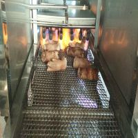 供应肉制品烤毛机 康汇牌猪皮烤毛机