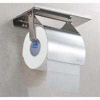 不锈钢304简易手机纸架,带遮盖板jyx-x02b,不锈钢厕所手机纸架
