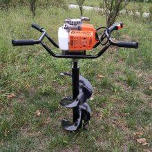 供应电线杆挖坑机四冲程植树挖坑机志成地钻机厂家