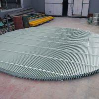 FRP玻璃钢圆形水平烟道式水气分离装置除雾效果佳 河北华强