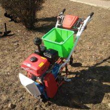 热销家用汽油链轨式耘播机 播种施肥除草旋地机 手扶式耘播机