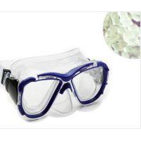 东莞市天一塑胶供应TPE-5060游泳眼镜材料 眼镜PC包胶料