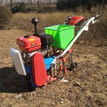志成热销手推式耘播机 多功能双行玉米播种机 柴油链轨式施肥播种机