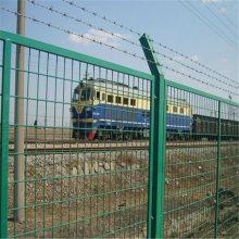 铁路护栏网生产商 园林绿化防护网尺寸 场地隔离栏多少钱