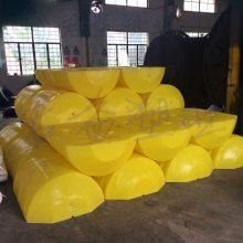 码头直径600浮筒 君益高1.2米塑料浮筒 圆柱浮筒厂家直销