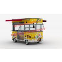 雅美可4.2米各种尺寸店车 电动餐车 多功能小吃车 街景店车 广告宣传车 SH炊具