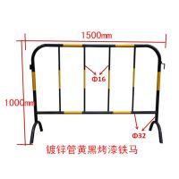 鸿宇筛网可定制镀锌喷塑护栏施工隔离栏