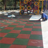 學校跑道安全橡膠地墊生産 專業橡膠地墊制作 小區活動場所地墊 防撞無公害