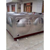 陇南玻璃钢水箱smc组合式屋顶 陇南消防水箱 RJ-L271