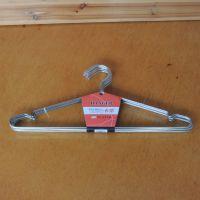 厂家直供 诚意牌质优价廉实心不锈钢衣架 防滑晾衣架 衣服撑架(45cm)