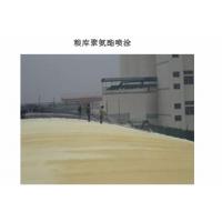 长沙粮食储备库聚氨酯喷涂拱板保温