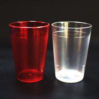 东莞5oz塑料杯现货直销1075PC透明塑料磨砂杯可印刷图案