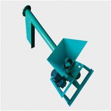 兴亚加工定制粮食螺旋输送机 商砼搅拌站管式螺旋输送泵提升机