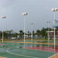 中山6米圓頭燈球場燈杆 4個燈具燈杆廠 照明燈杆生産