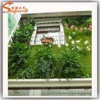 厂家直销仿真植物墙PU室内仿真草墙草坪绿植墙装饰