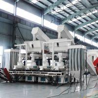 广西木屑颗粒机 锯末成型机 杂木制粒生产线价格及方案