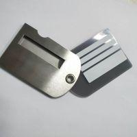 厂家直销不锈钢行李牌吊牌登机牌托运标记牌可定制LOGO