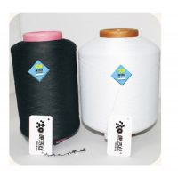 康洁丝抗菌包纱,黑色包覆纱K4070/24F 抗菌氨纶 防臭纱 除臭袜纱 消臭袜纱