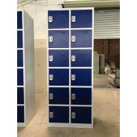 佛山港文厂家供应中档案柜 双色12门铁皮柜定制 双色文件柜,电子密码柜