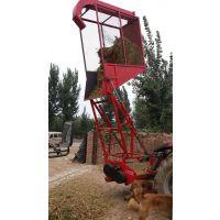 山西行走式青贮粉碎回收机 小型拖拉机带亚博体育官网赢钱不给收获机