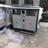 分类垃圾桶室外果皮箱环保烤漆垃圾桶的设计理念