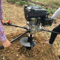 新款快速钻眼打洞机单人便携式挖坑机山地加长打孔机