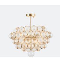 大名城后现代个性装饰灯客厅咖啡厅轻奢创意玻璃球美式卧室吊灯