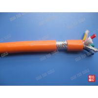柔性耐油耐磨耐腐蚀拖链电缆TRVV4*0.5 4*0.75 4*1.0MM2 上海超帆