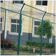 道路防护框架护栏网 绿色防护格栅现货 小区围栏围网